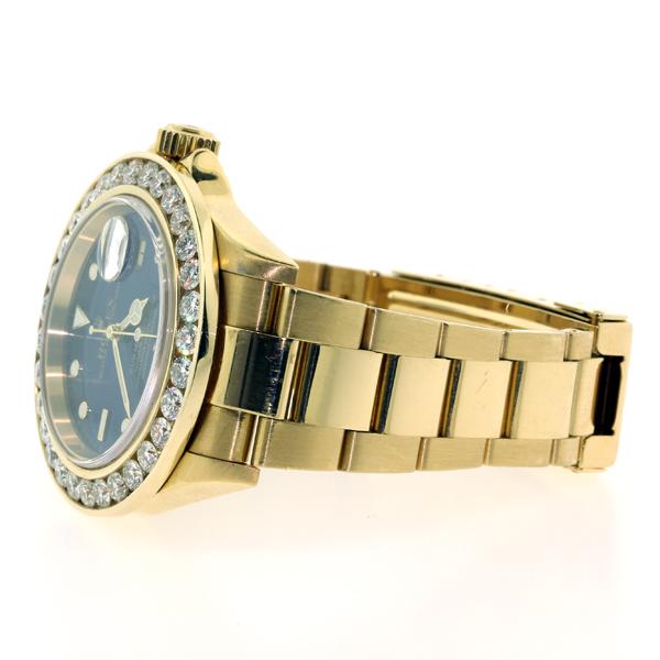 Rolex Submariner Gold Diamond Bezel